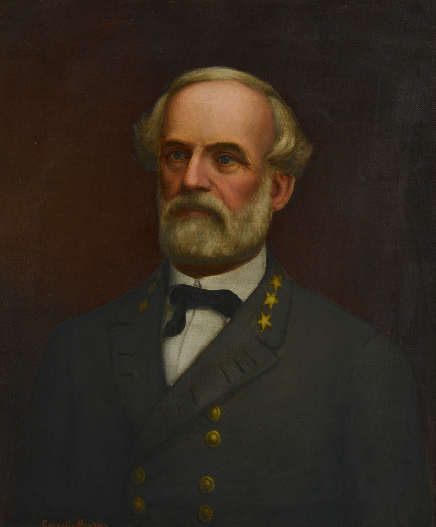 Lot 96: Cornelius Hankins, Gen. Lee Portrait