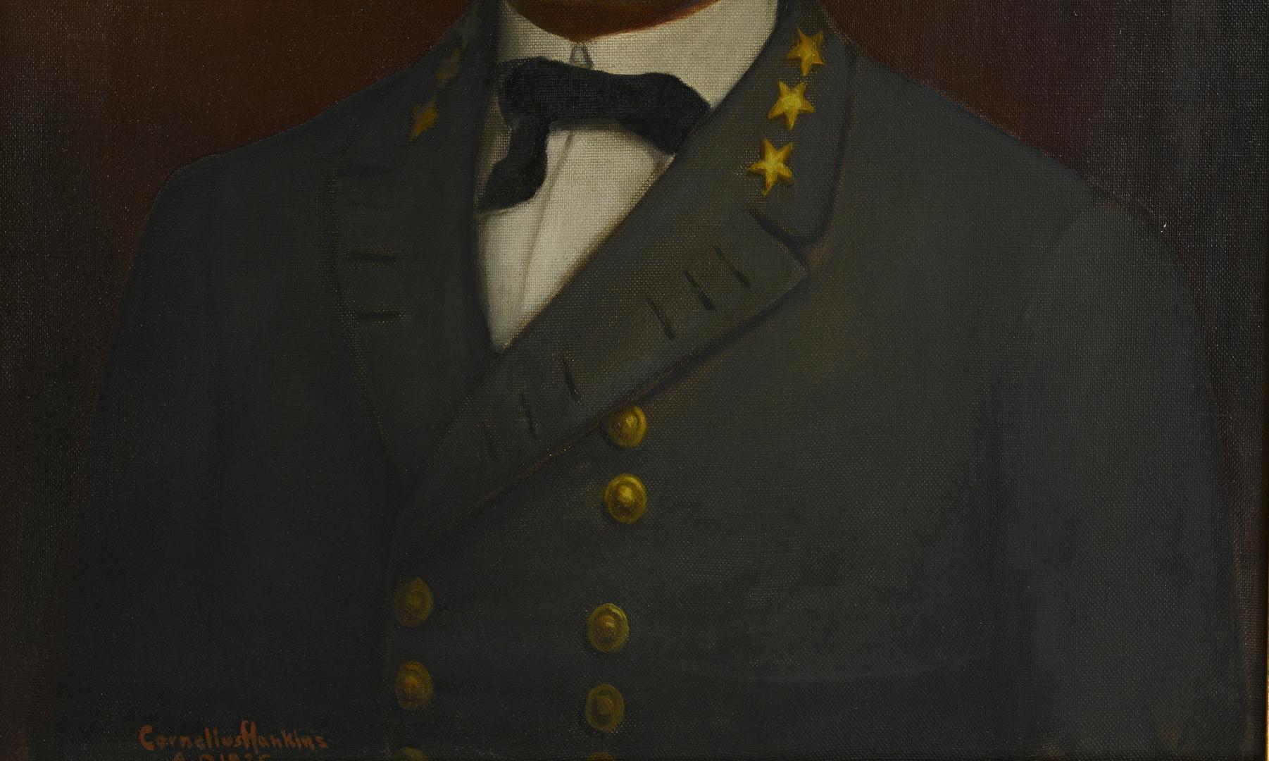 Lot 96: Cornelius Hankins, Gen. Lee Portrait