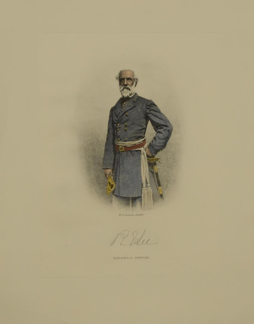 Lot 97: Gen. Robert E. Lee Engraved Portrait