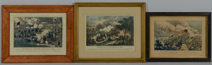 Lot 99: Currier & Ives TN CIvil War Prints, 3
