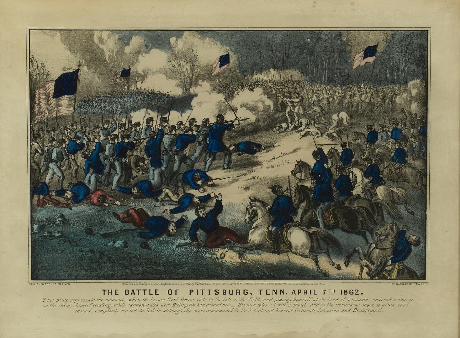 Lot 99: Currier & Ives TN CIvil War Prints, 3