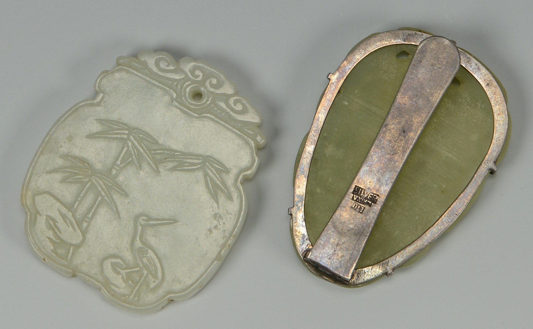 Lot 3594142: 8 Asian Carved Jade items