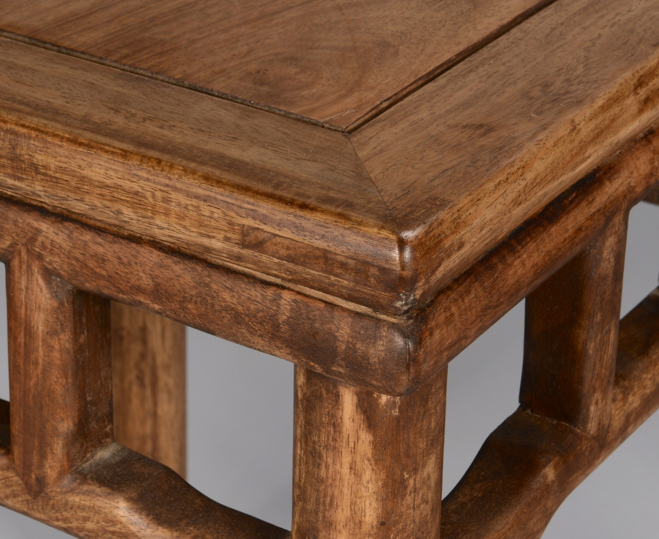 Lot 3594172: Pr. Chinese Hardwood Low Tables