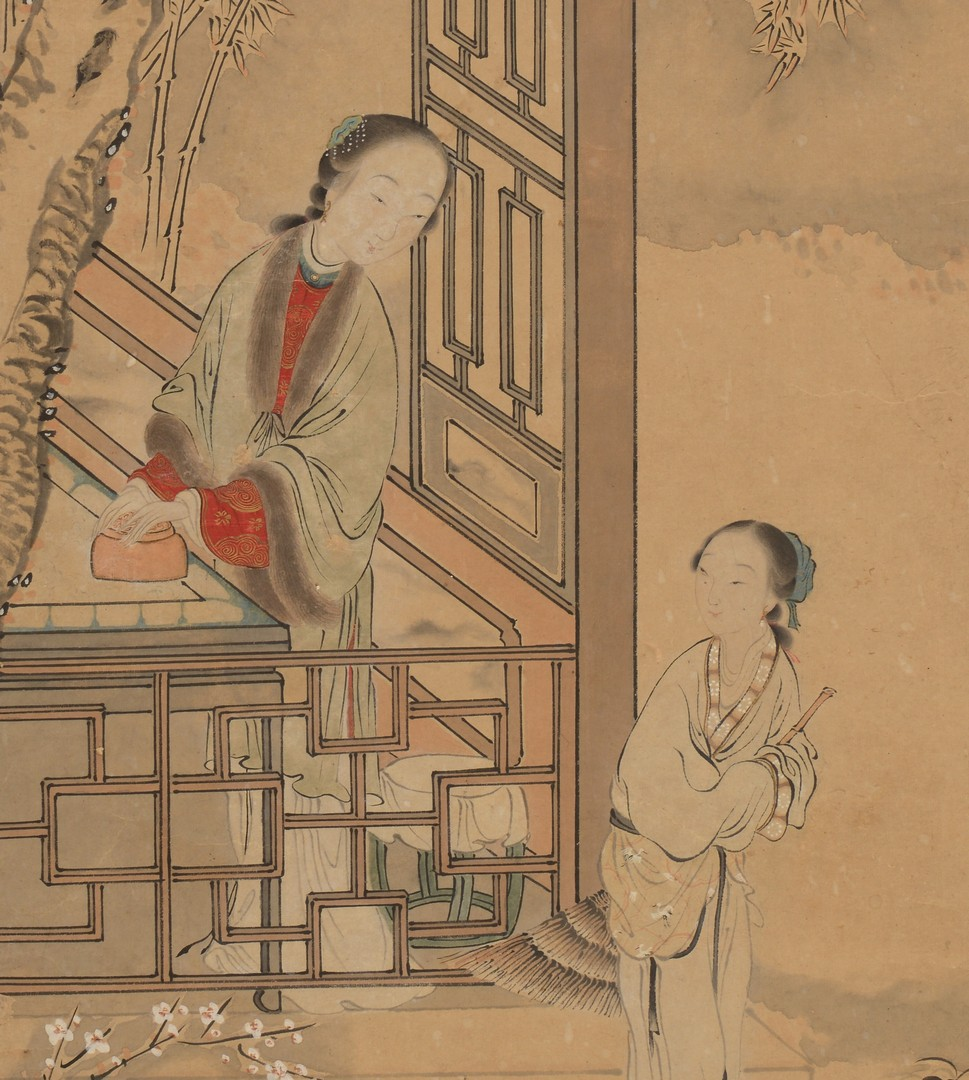 Lot 3594176: Chinese Scroll Painting