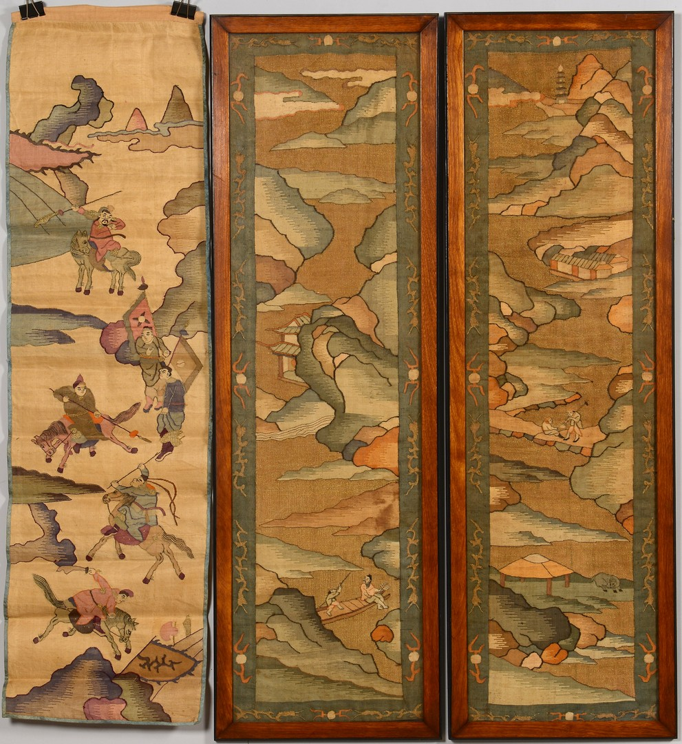 Lot 3594177: Group of 5 Asian Scrolls