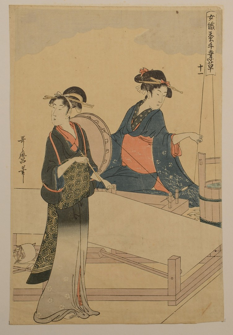 Lot 3594178: 3 Japanese Woodblock Prints
