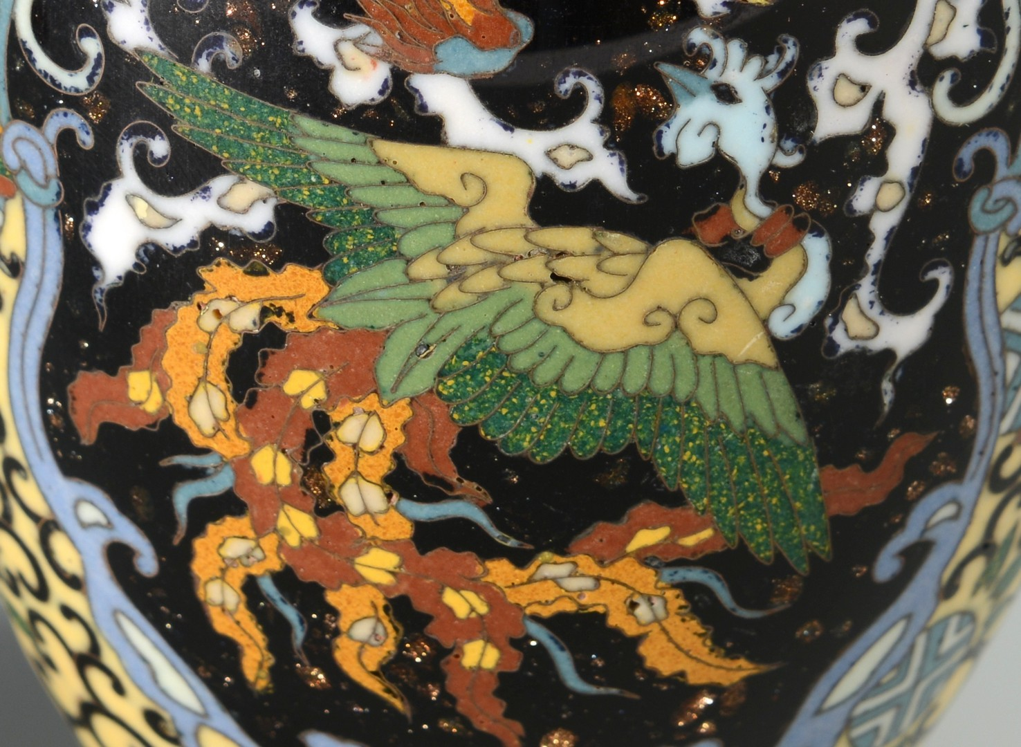 Lot 3594205: 4 Chinese Cloisonne Vases