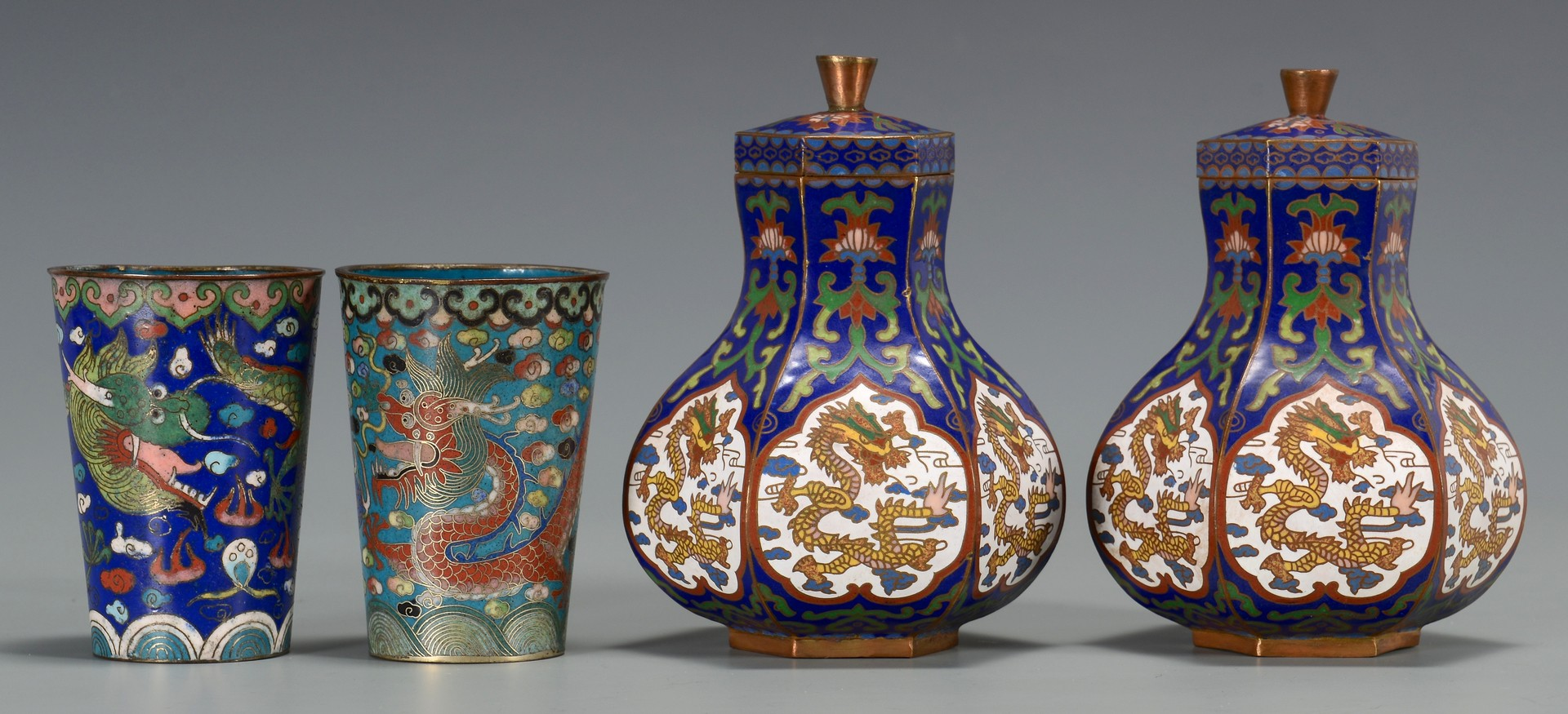Lot 3594208: Group of 8 Cloisonne Items