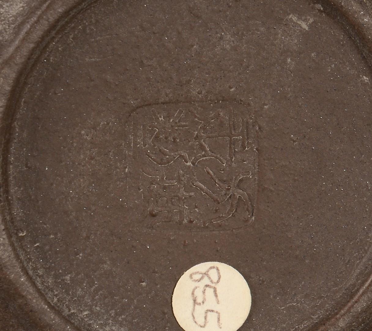 Lot 3594223: Chinese Yixing Teapot & Japanese Tokoname Mug