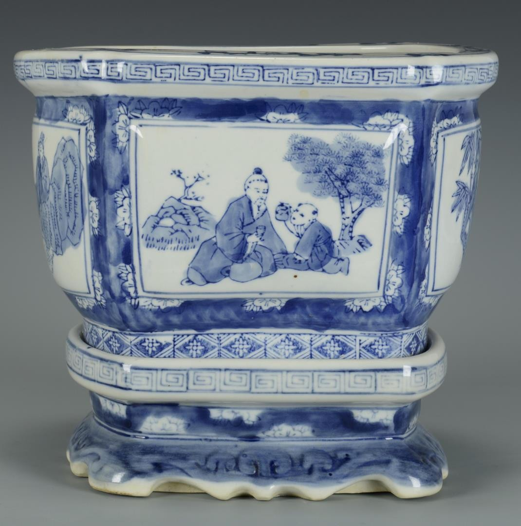 Lot 3594240 chinese fish bowl jardiniere for Chinese fish bowl