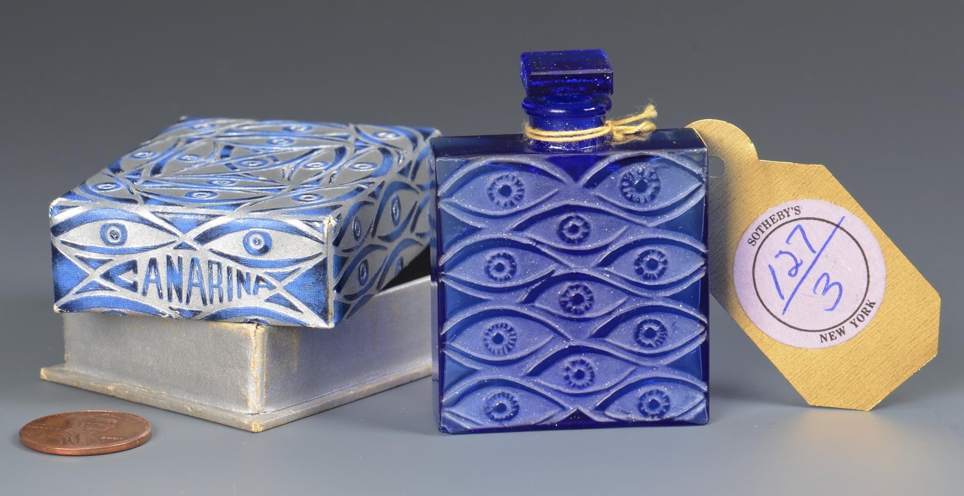 Lot 3594263: R. Lalique Canarina Perfume Bottle