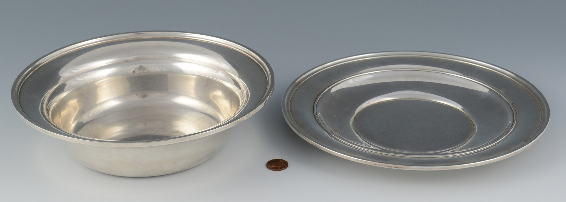 Lot 3594266: 2 pcs Sterling Silver Hollowware