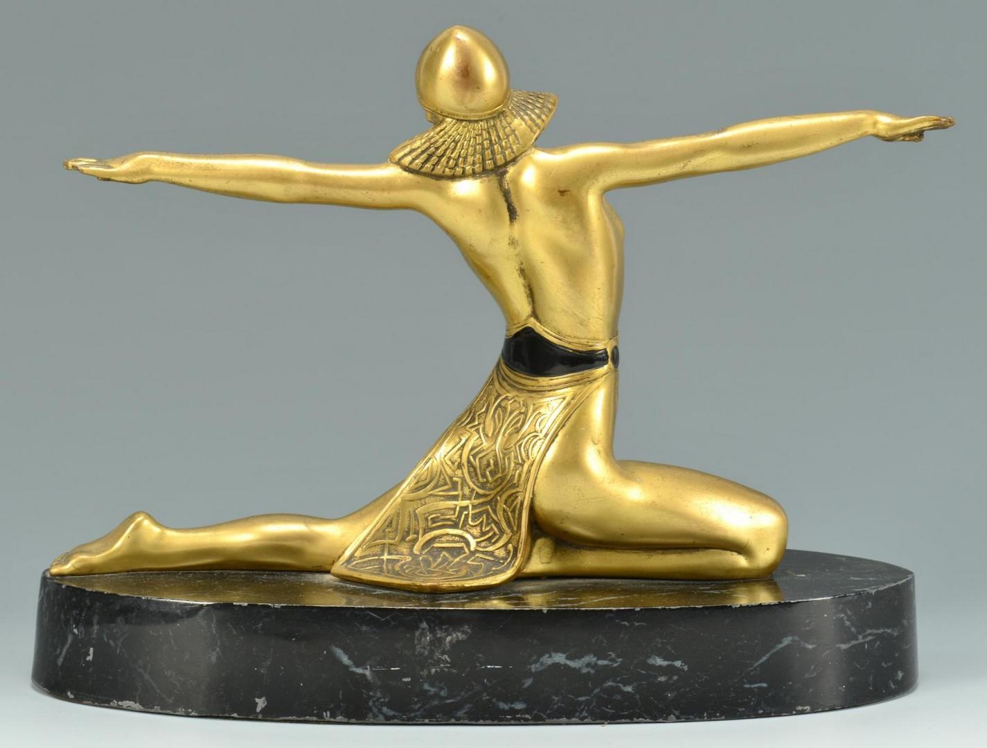 Lot 3594269: 4 Art Deco Nude Sculptures