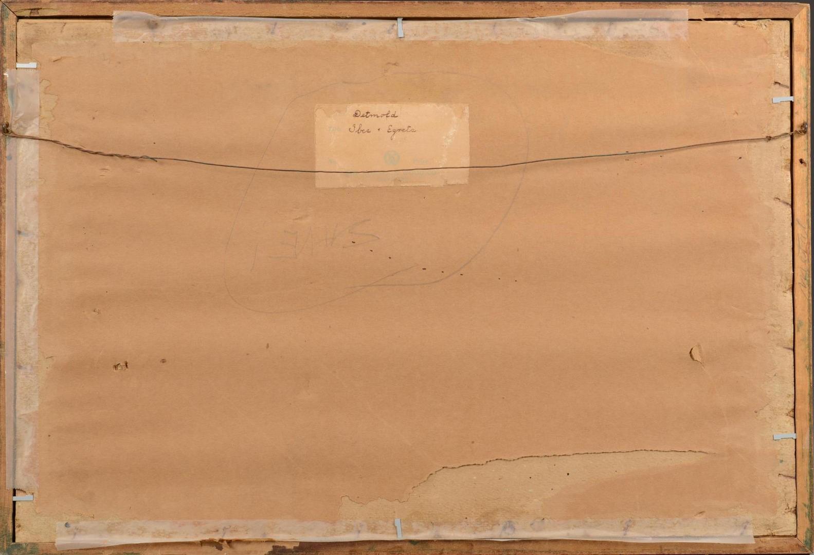 Lot 3594275: E.J. Detmold aquatint
