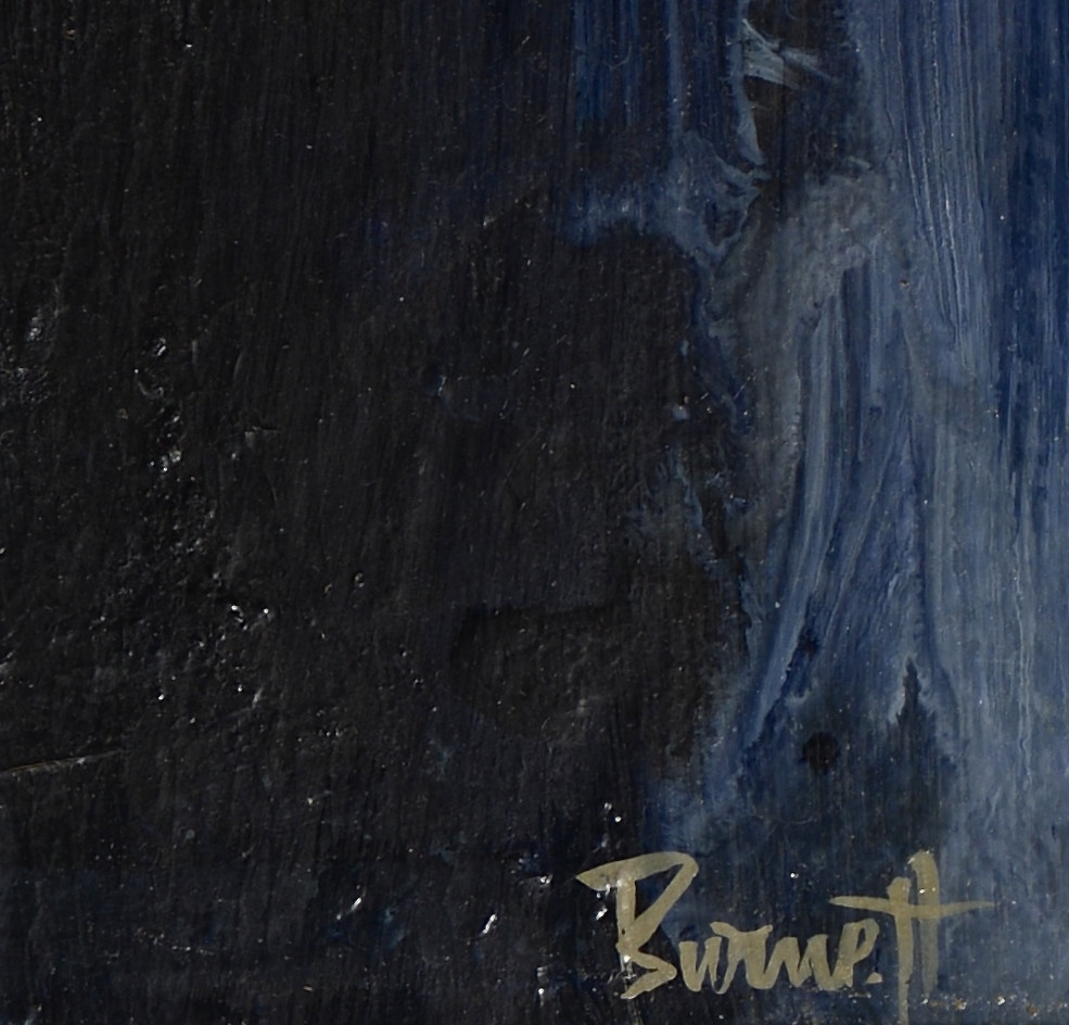 "Lot 3594278: Ted Burnett Abstract ""Queen"""