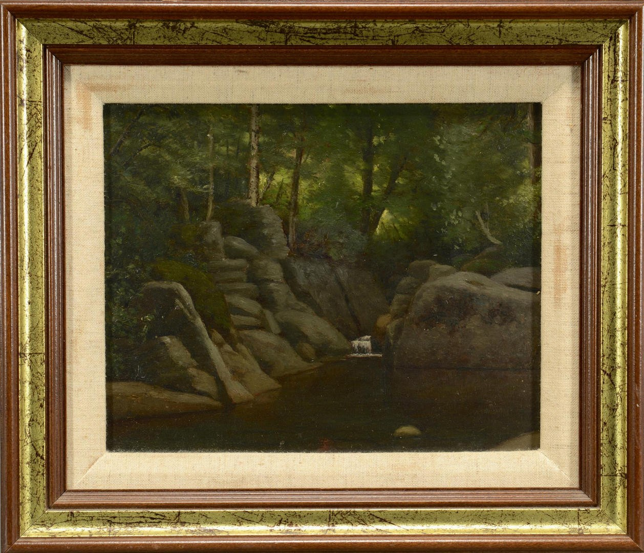 Lot 3594279: White Mountains NH landscape