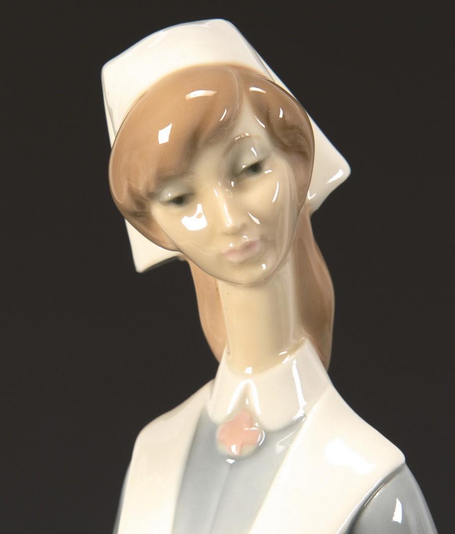 Lot 3594288: 2 Lladro Porcelain Figures, Doctor & Nurse
