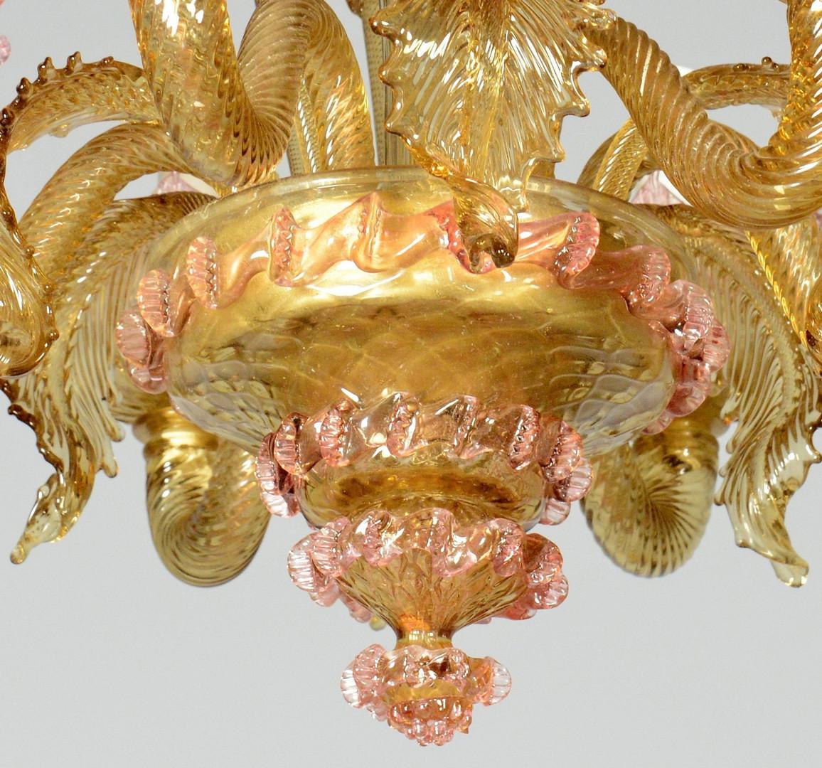Lot 131: Venetian/Murano Glass Chandelier