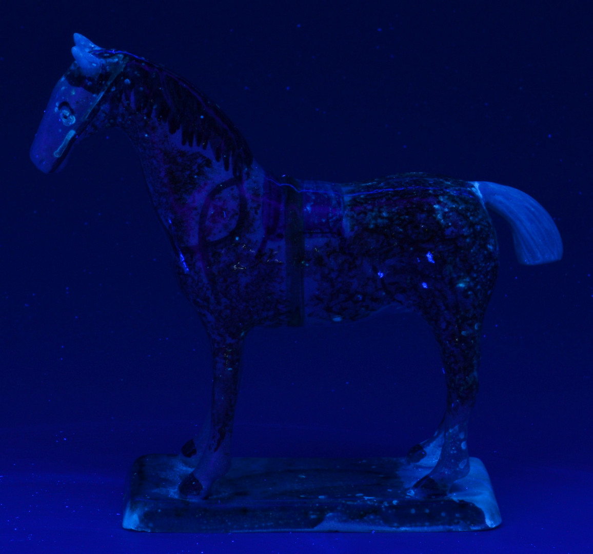 Lot 138: Early Pearlware Model of a Horse