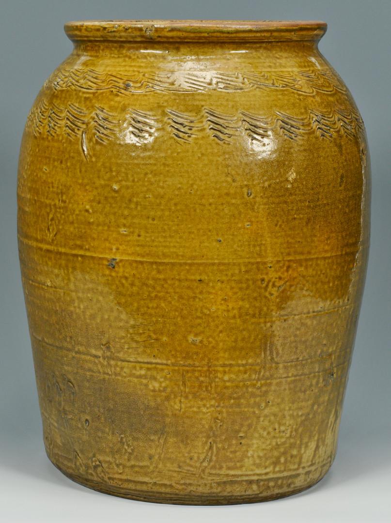 Lot 140: Alabama Sine Wave Alkaline Jar