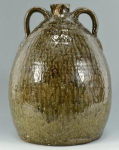 Lot 141: Georgia C. J. Becham Stoneware Pottery Jug - Image 3