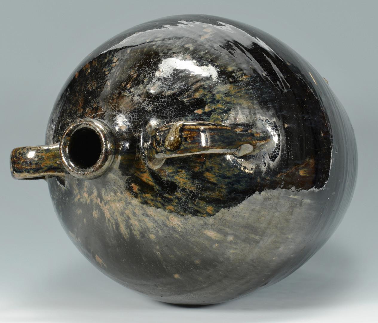 Lot 142: GA Pottery Jar, Becham or John Long