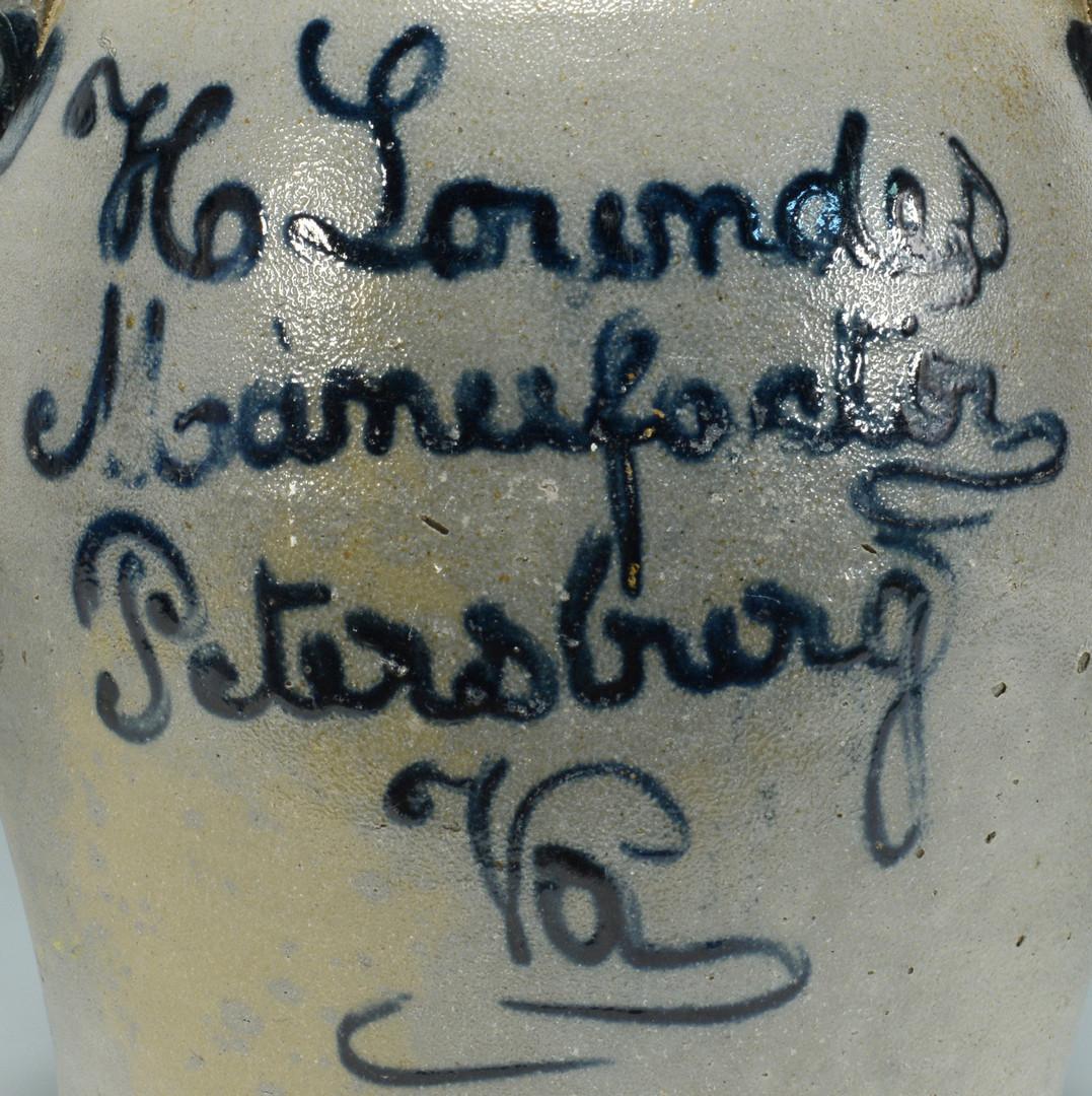 Lot 148: VA Henry Lowndes Stoneware Pottery