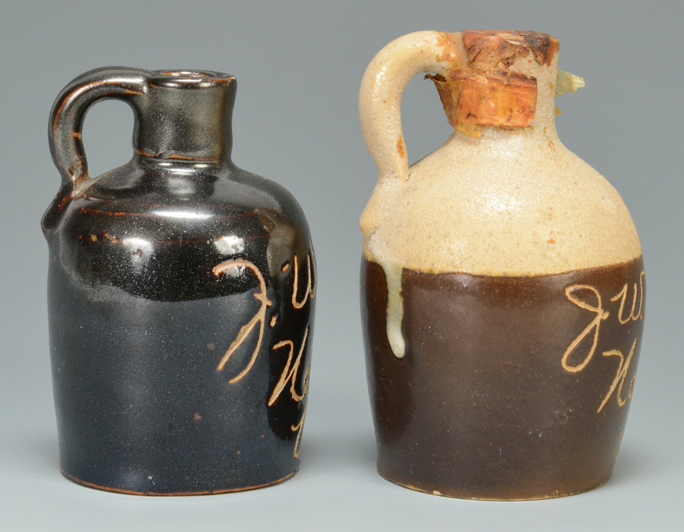 Lot 149: 3 J. W. Mason KY & GA jugs
