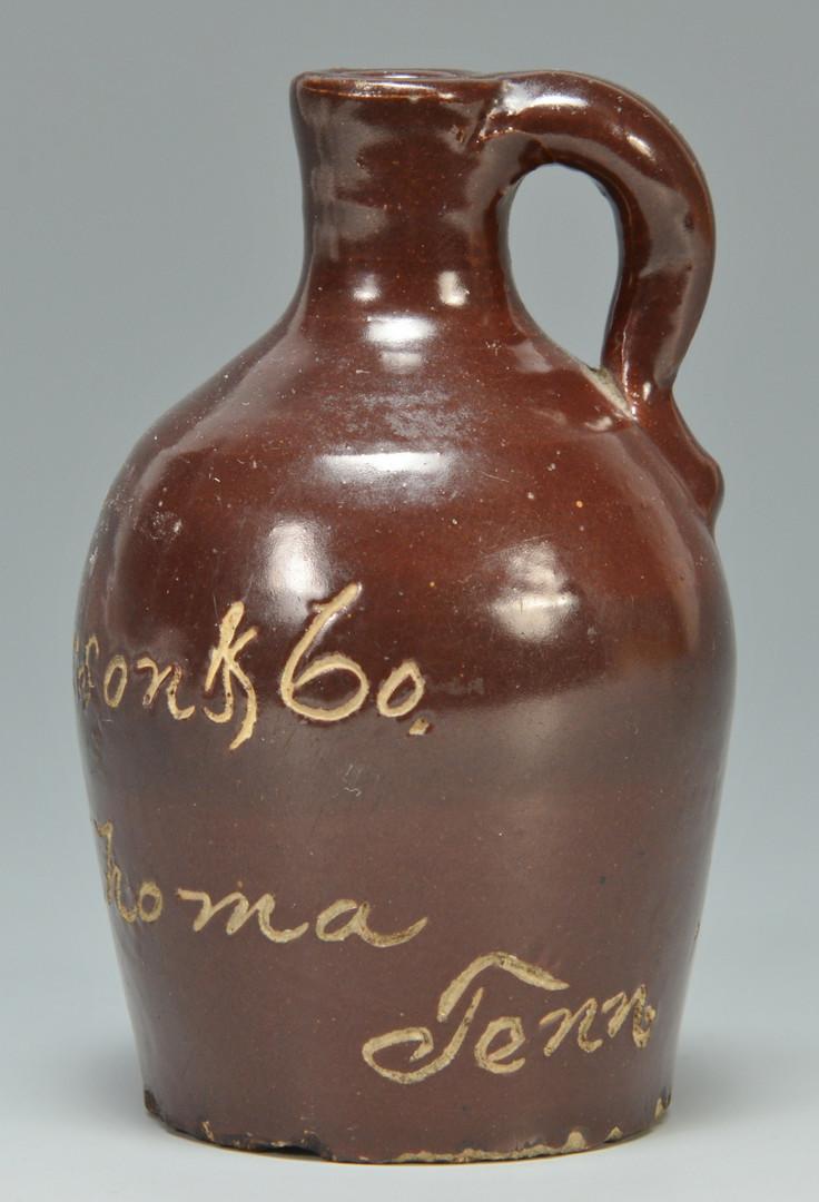 Lot 153: Tullahoma TN Whiskey Jug Miniature