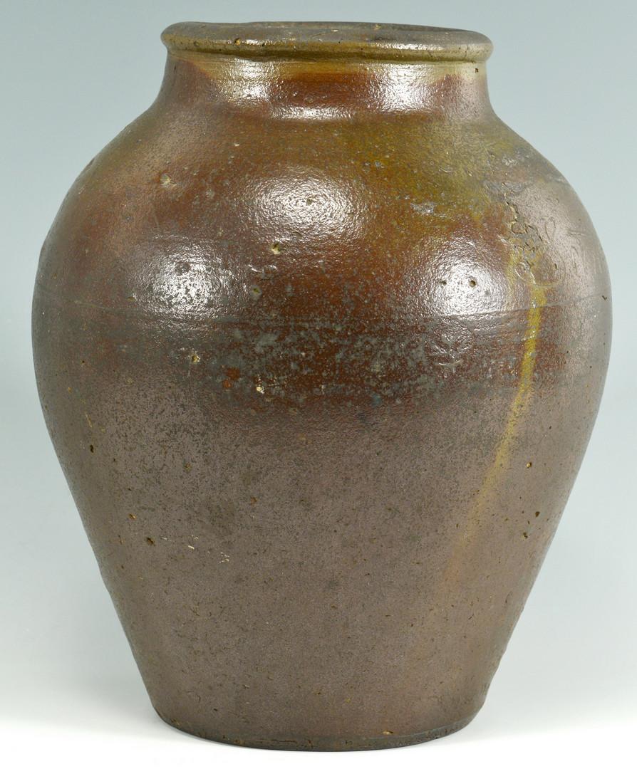 Lot 156: 1827 Dated Stoneware Jar, TN Attrib.