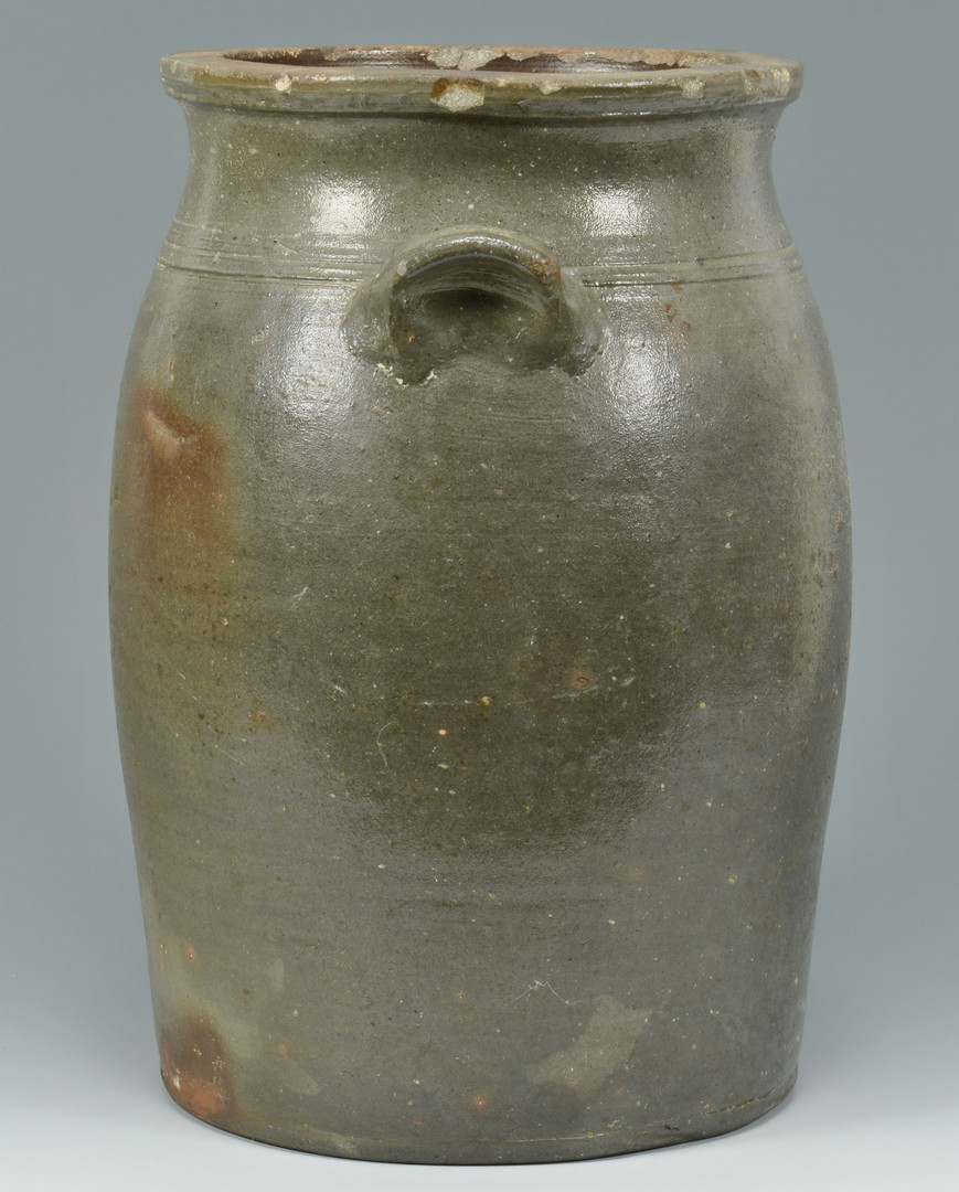 Lot 157: East TN Pottery Churn, Weaver Bros.