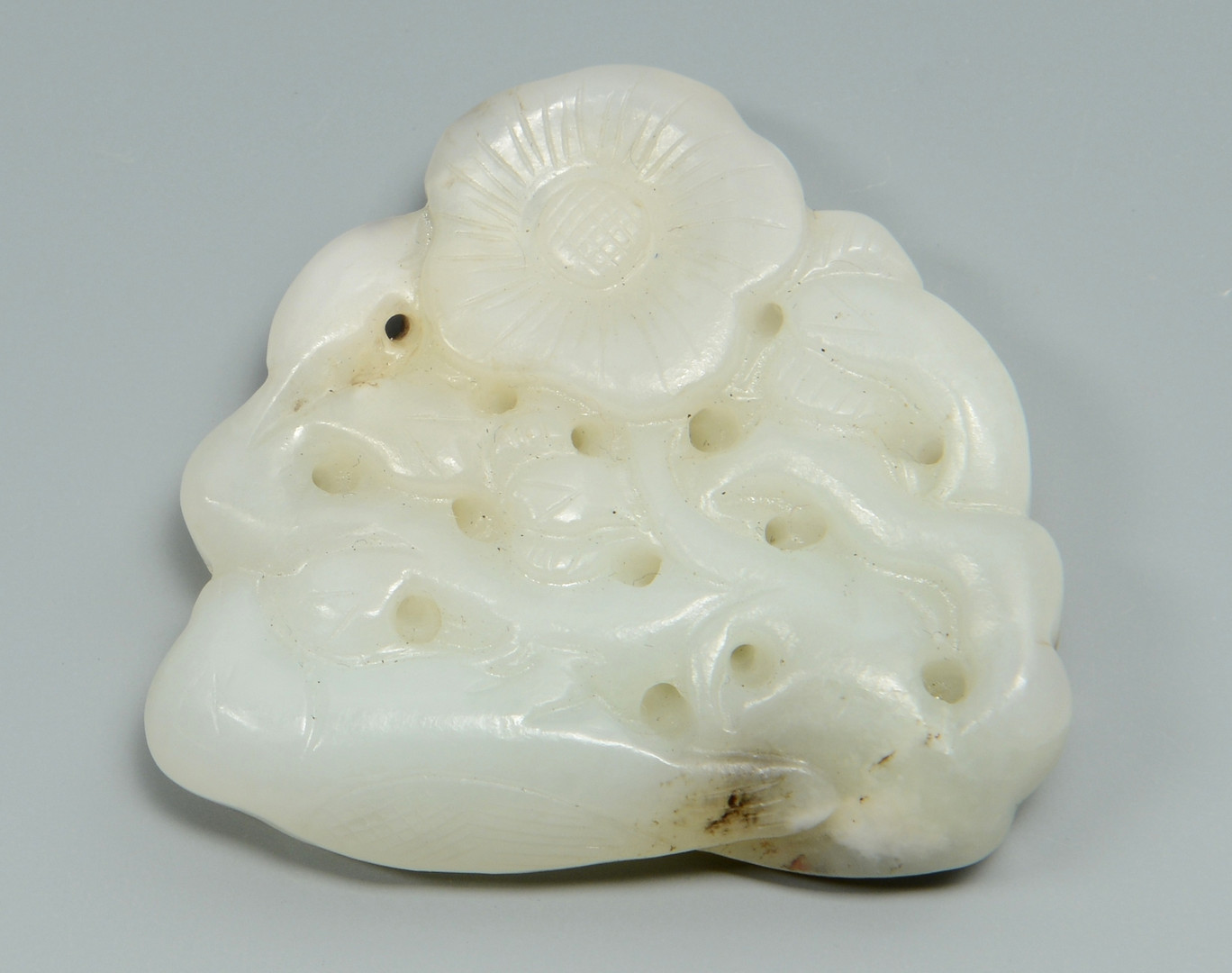 Lot 15: 4 Chinese Carved Jade Articles