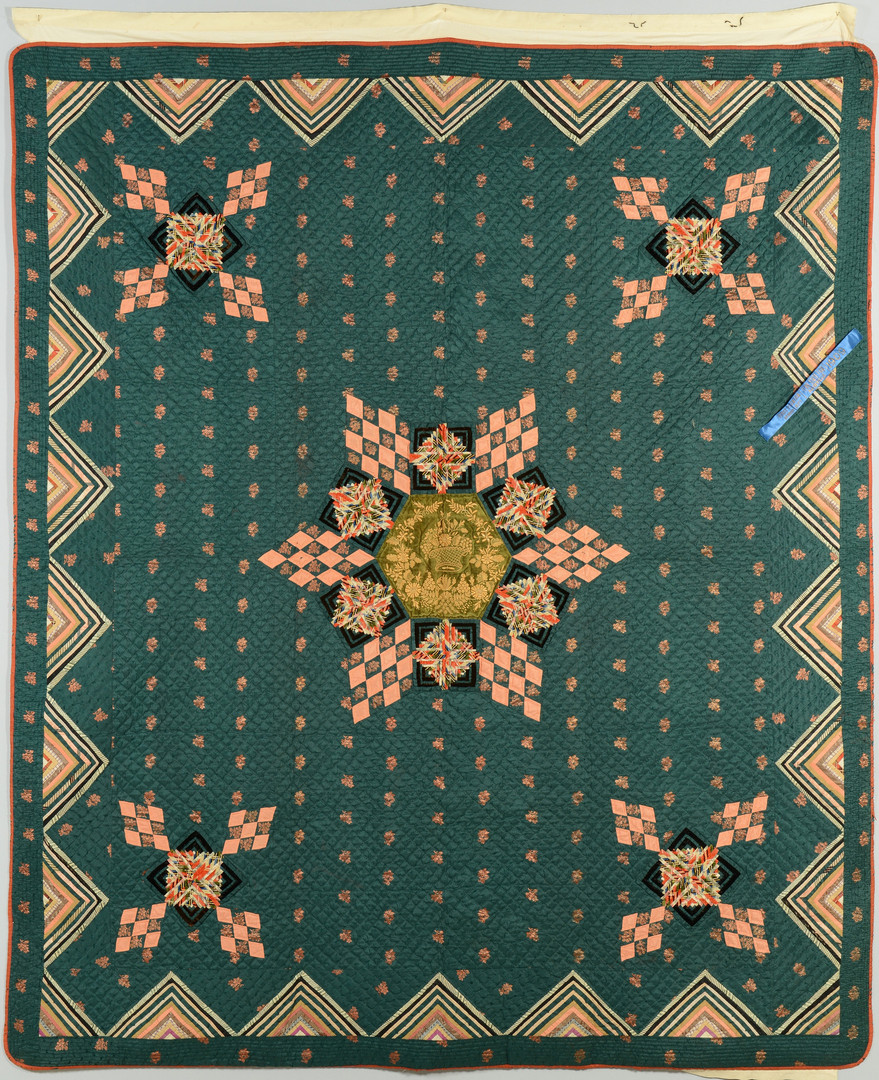 Lot 167: 1909 TN State Fair First Place Quilt