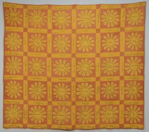 Lot 168: 1920s TN Quilt, 450 names