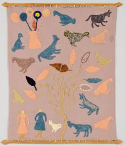 Lot 169: Granny Donaldson Folk Art Textile