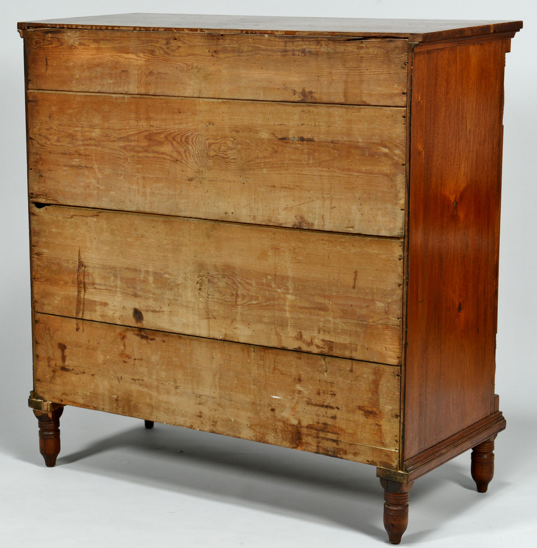 Lot 175: Knox Co., TN Walnut Chest of Drawers