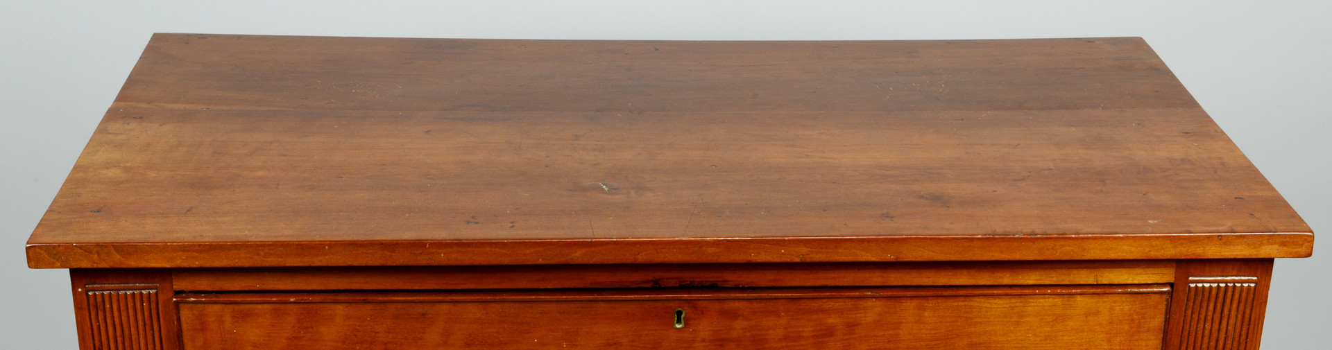Lot 176: East TN Inlaid & Carved Desk