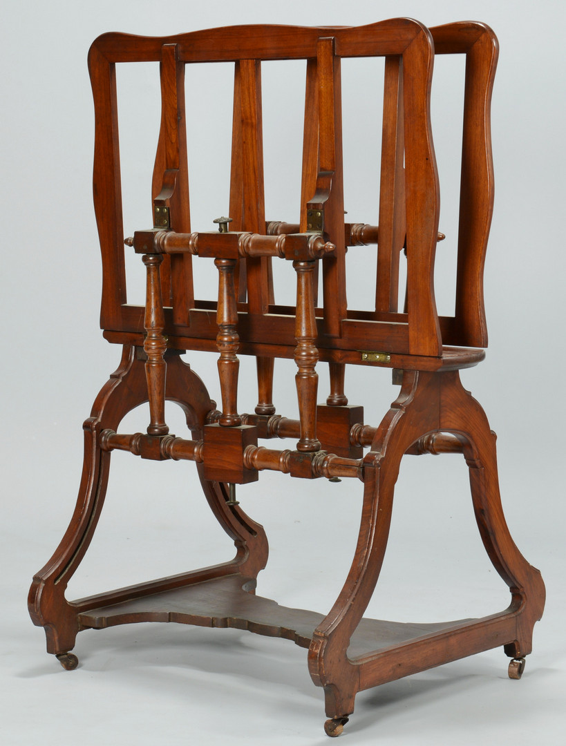 Lot 177: Victorian Print or Picture Stand