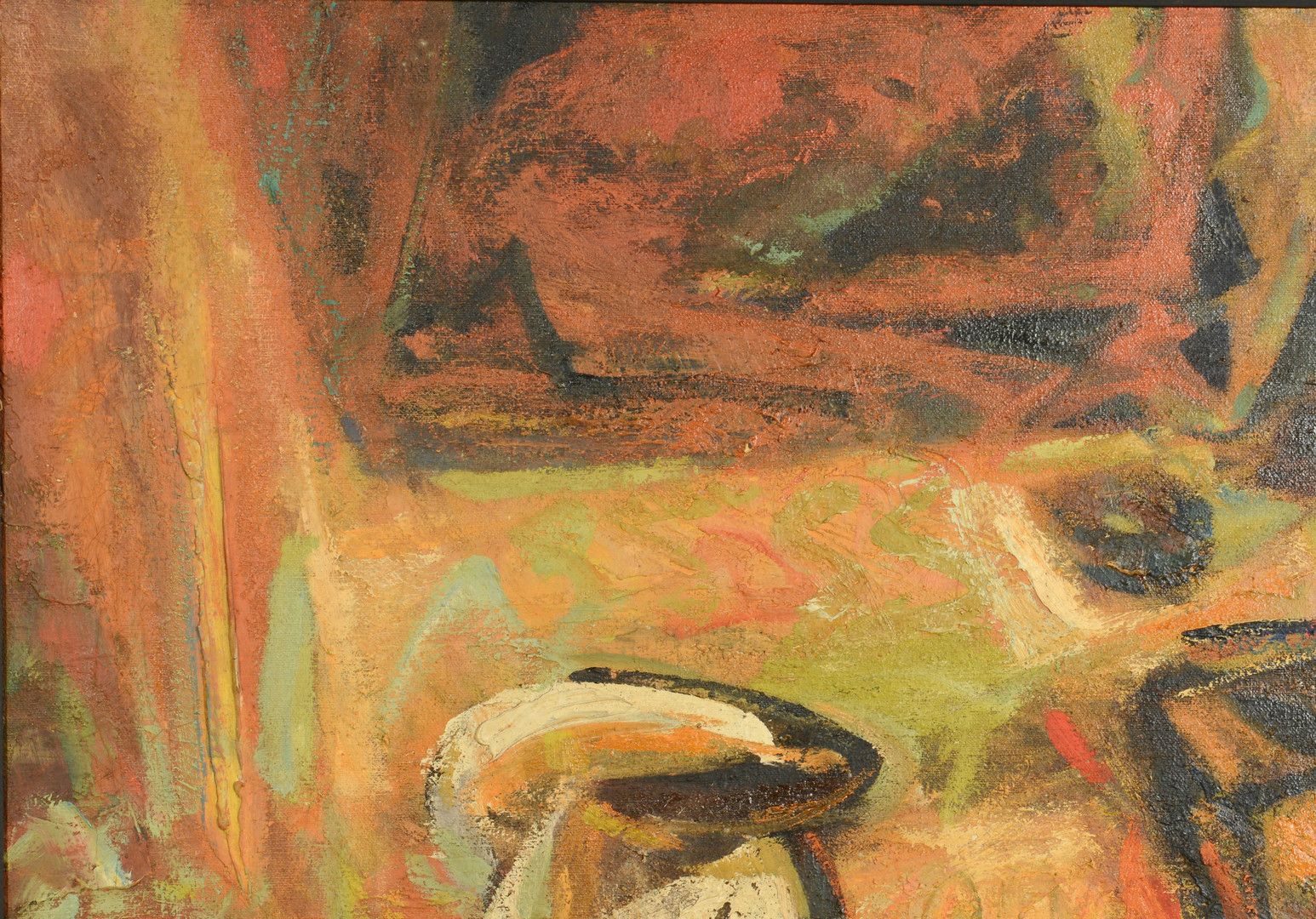 Lot 186: Charles Kermit Ewing Abstract Still Life