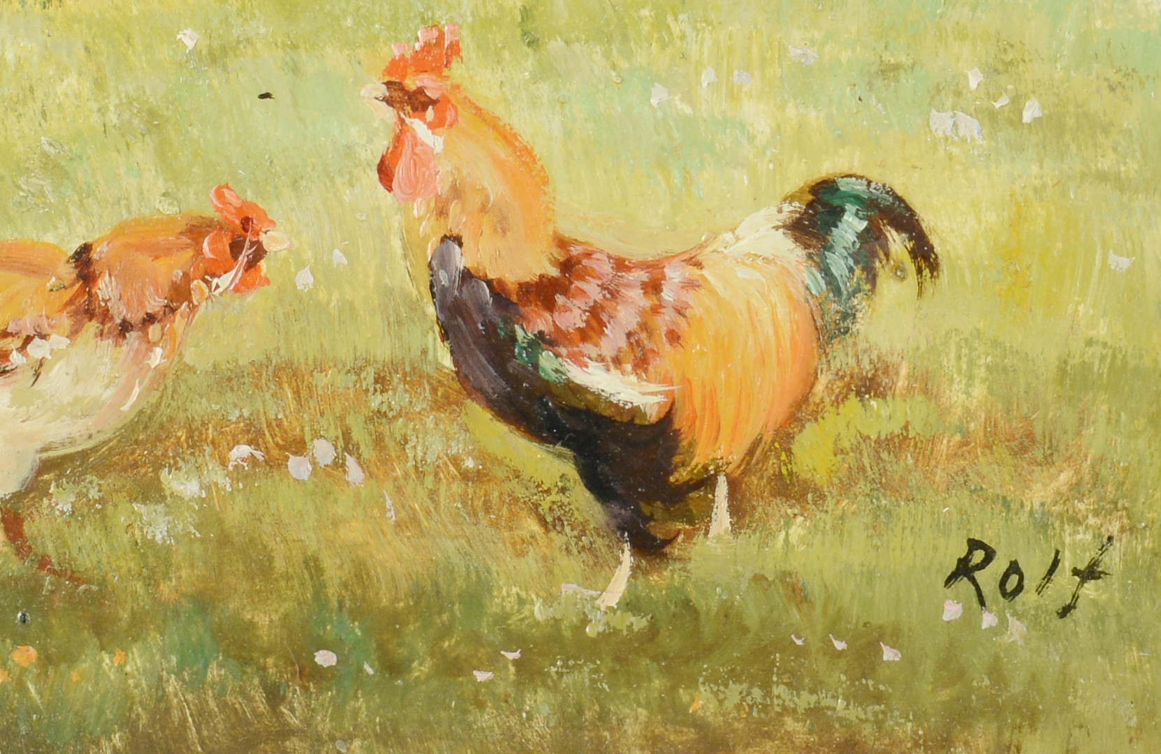 Lot 190: 3 Paintings: Marion Cook, Rolf
