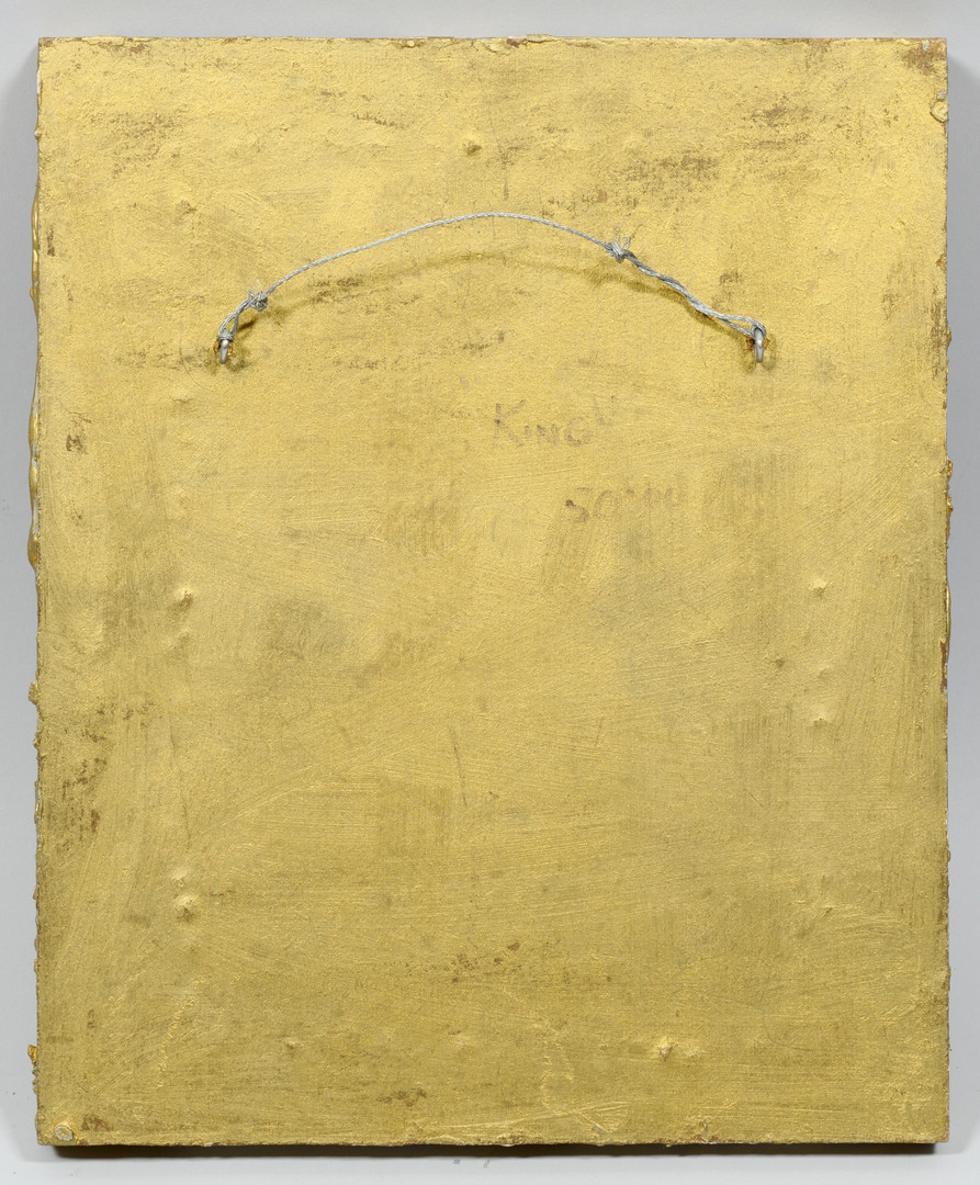 Lot 191: Greg Ridley Copper Plaque, King