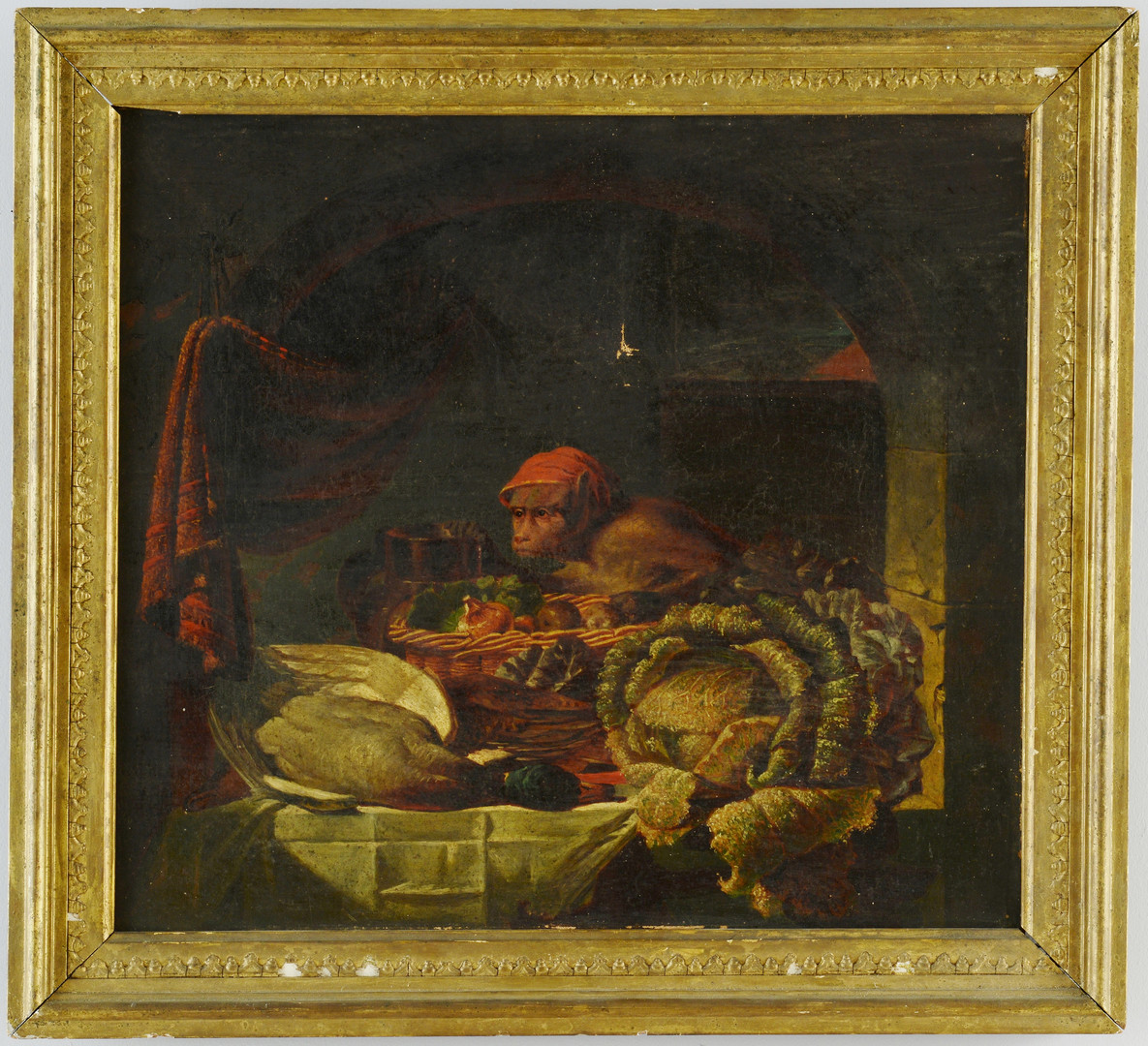Lot 194: Thomas Waterman Wood, Still Life with Monkey (afte