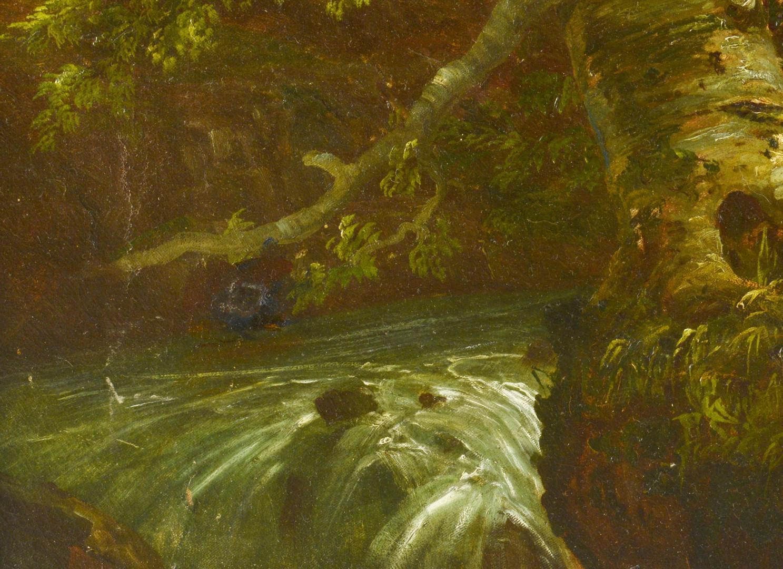 Lot 195: William Louis Sonntag Sr. o/c landscape