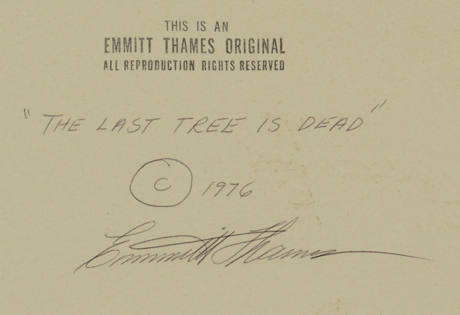 Lot 196: Emmitt Thames (American/Mississippi, b. 1933)