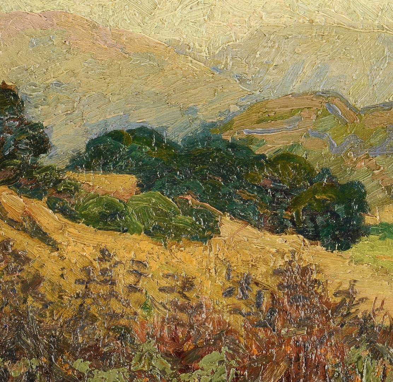 Lot 200: Katherine Lovell o/c landscape