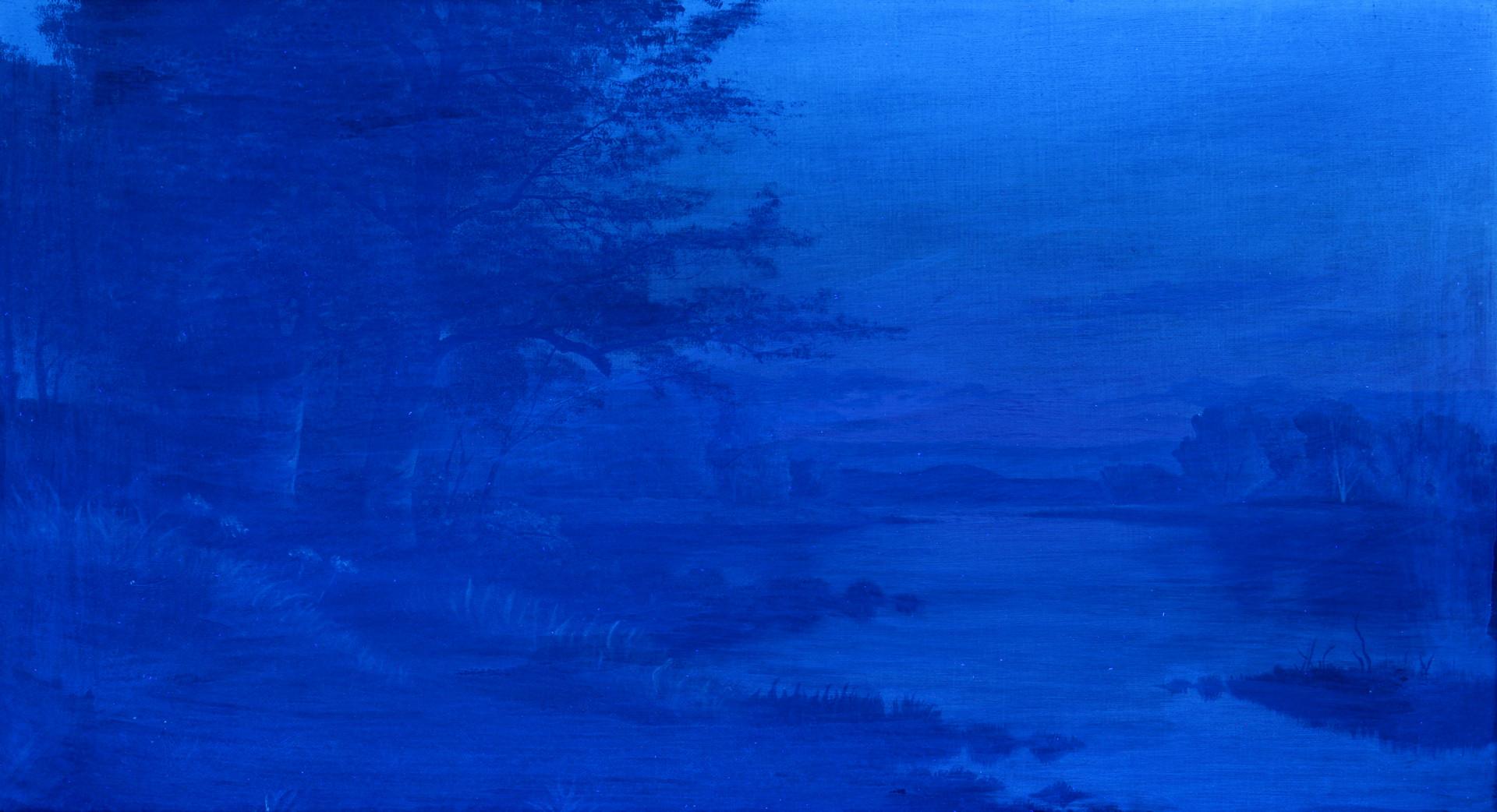 Lot 201: Anna Brewster o/c landscape