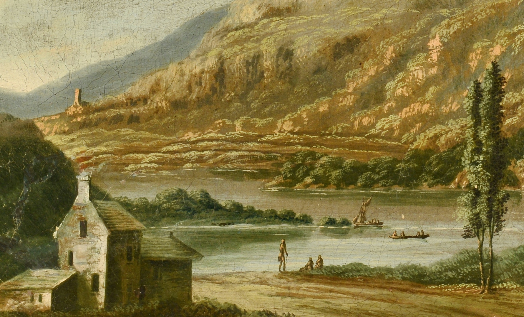 Lot 217: Italian Landscape, after M. Ricci