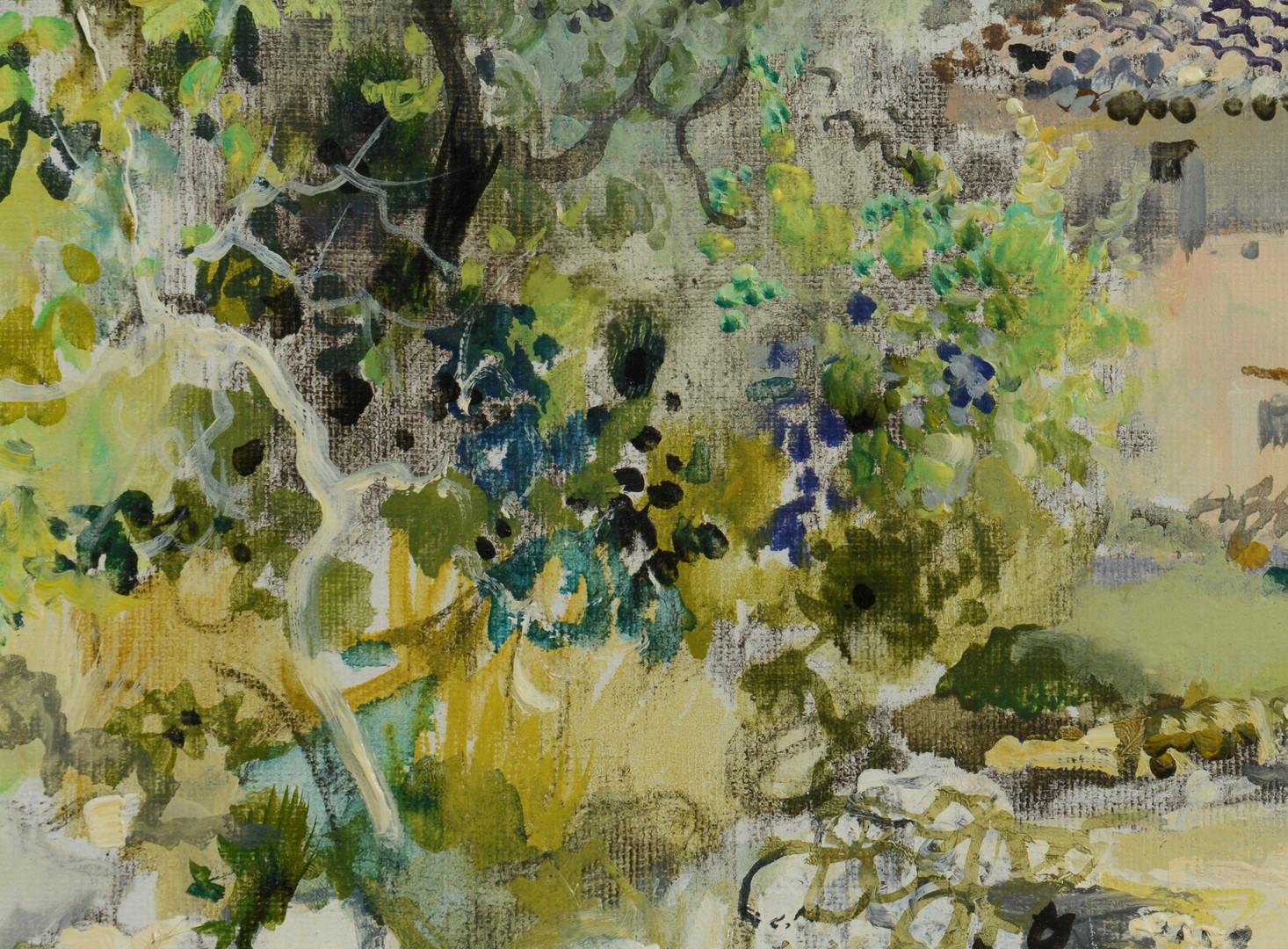 Lot 219: Gabriel Deschamps, Provence countryside