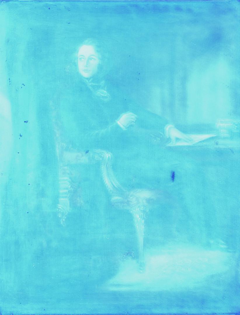 Lot 224: After D. Maclise, Dickens Portrait