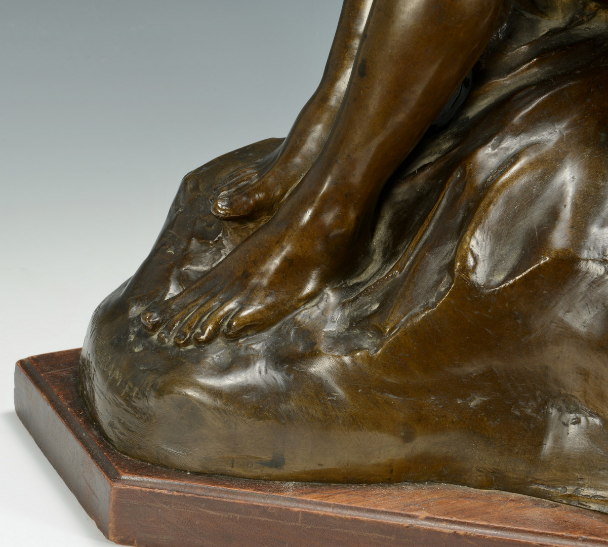 Lot 230: Henry Pegram Figural Bronze